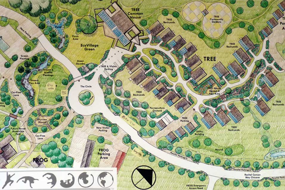 ecovillage ithaca map