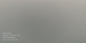 10. Signal Grey