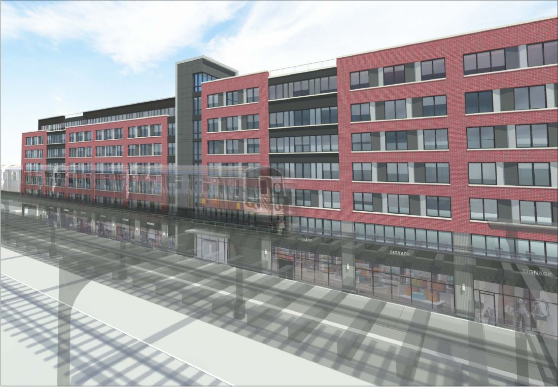 Astoria Central architectural rendering, requiring Astoria Central with INTUS Windows, STC 45/OITC 38
