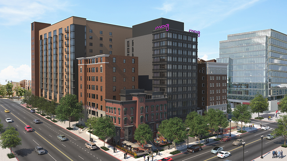 The Moxy Hotel with INTUS Windows - completion set for late 2018!
