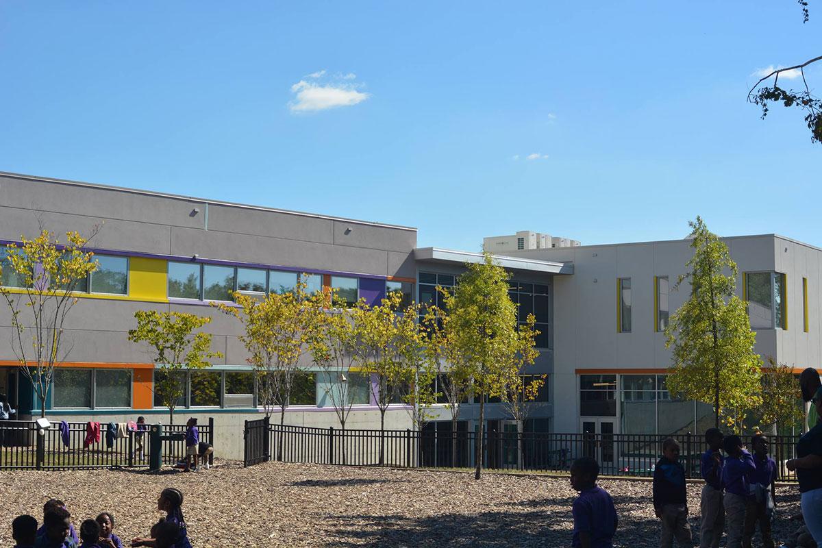 Rocketship Rise Academy - Elementary Charter School with INTUS Windows