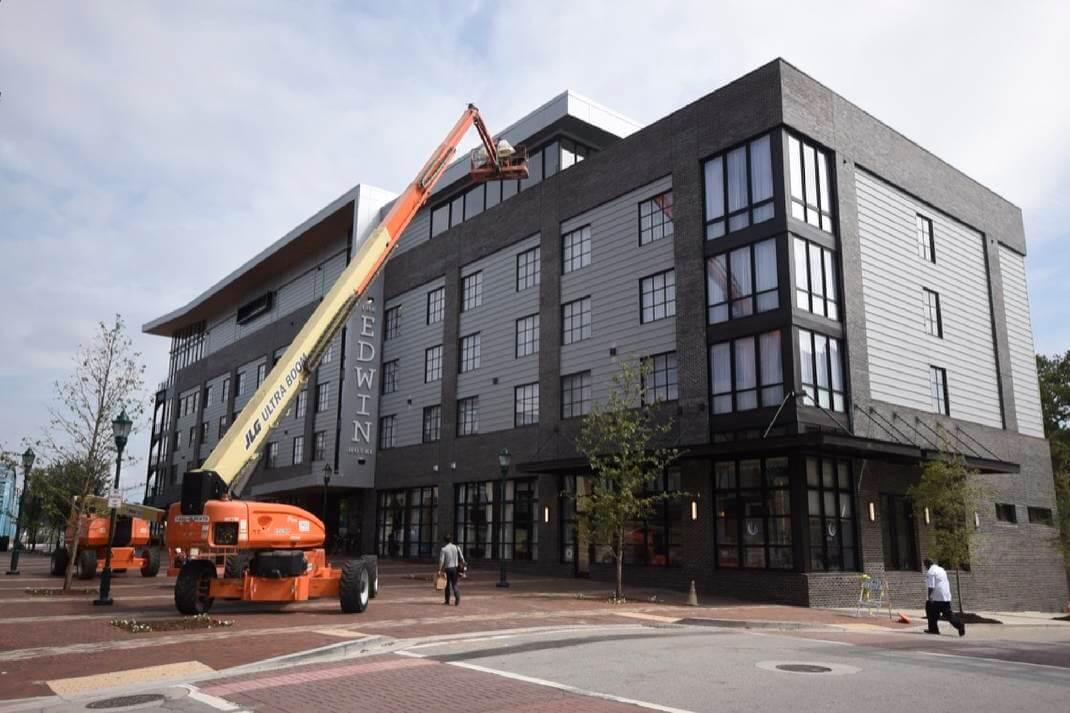 The Edwin Hotel in-progress