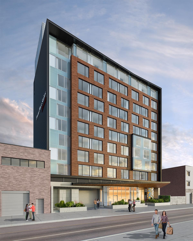 Marriott Long Island City Hotel with INTUS Windows
