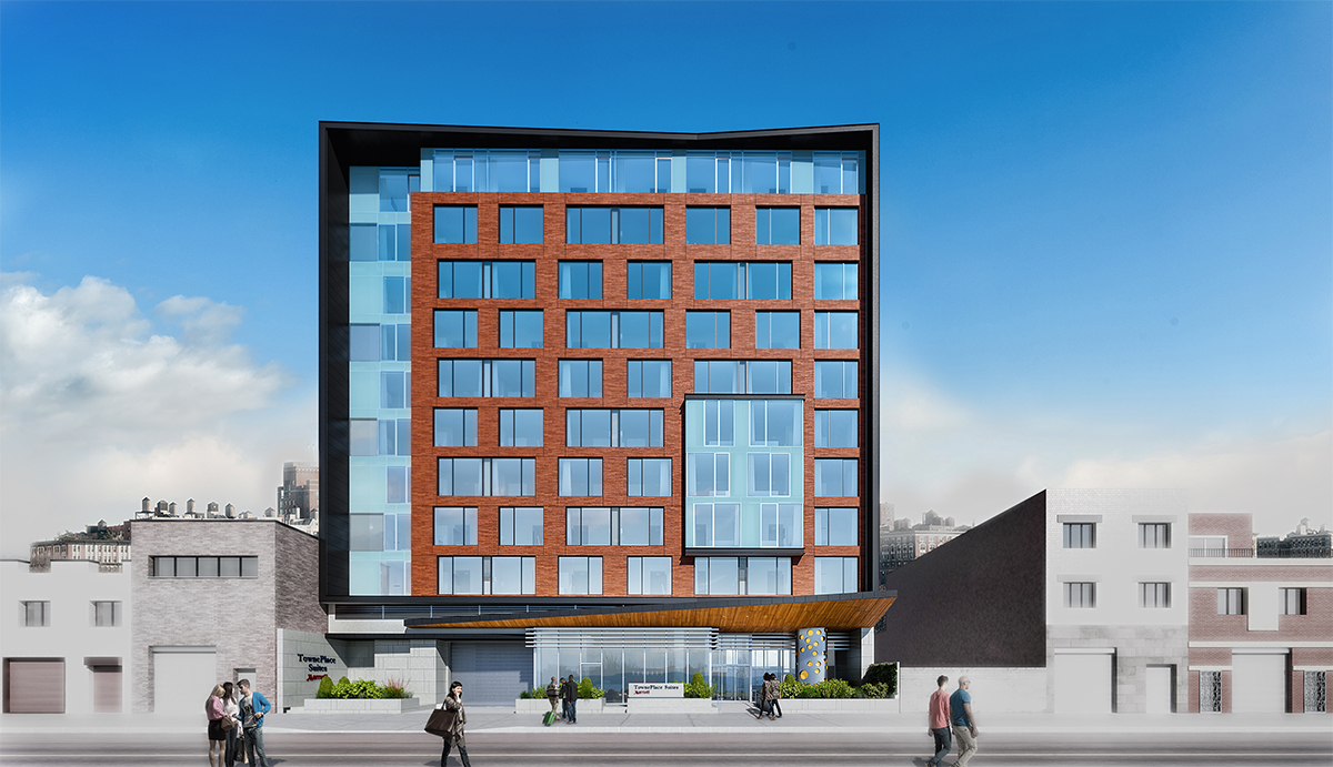 Marriott Long Island City Hotel with INTUS Windows