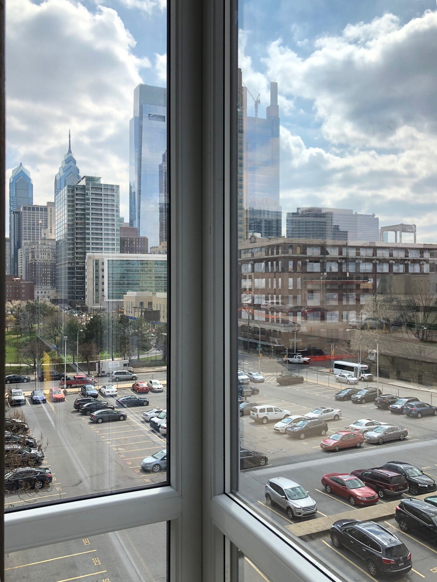 INTUS Windows offers stunning views of Philadelphia's skyline at The Hamilton Apartments