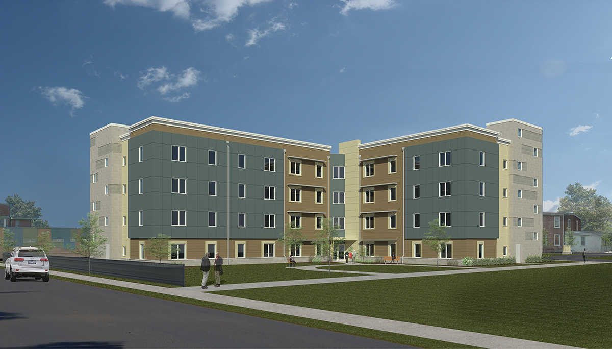 Montgomery Park Senior Living with INTUS WIndows