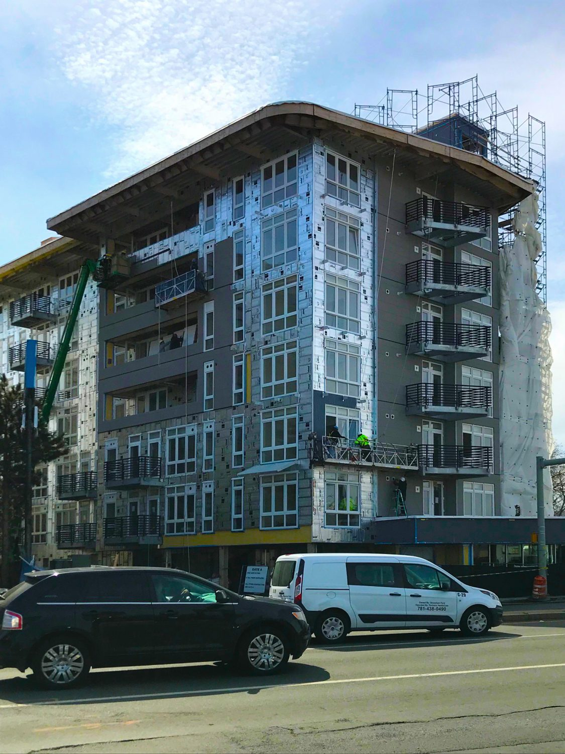 Point 262 Condominiums is in-progress and will be finishing up later in 2018!