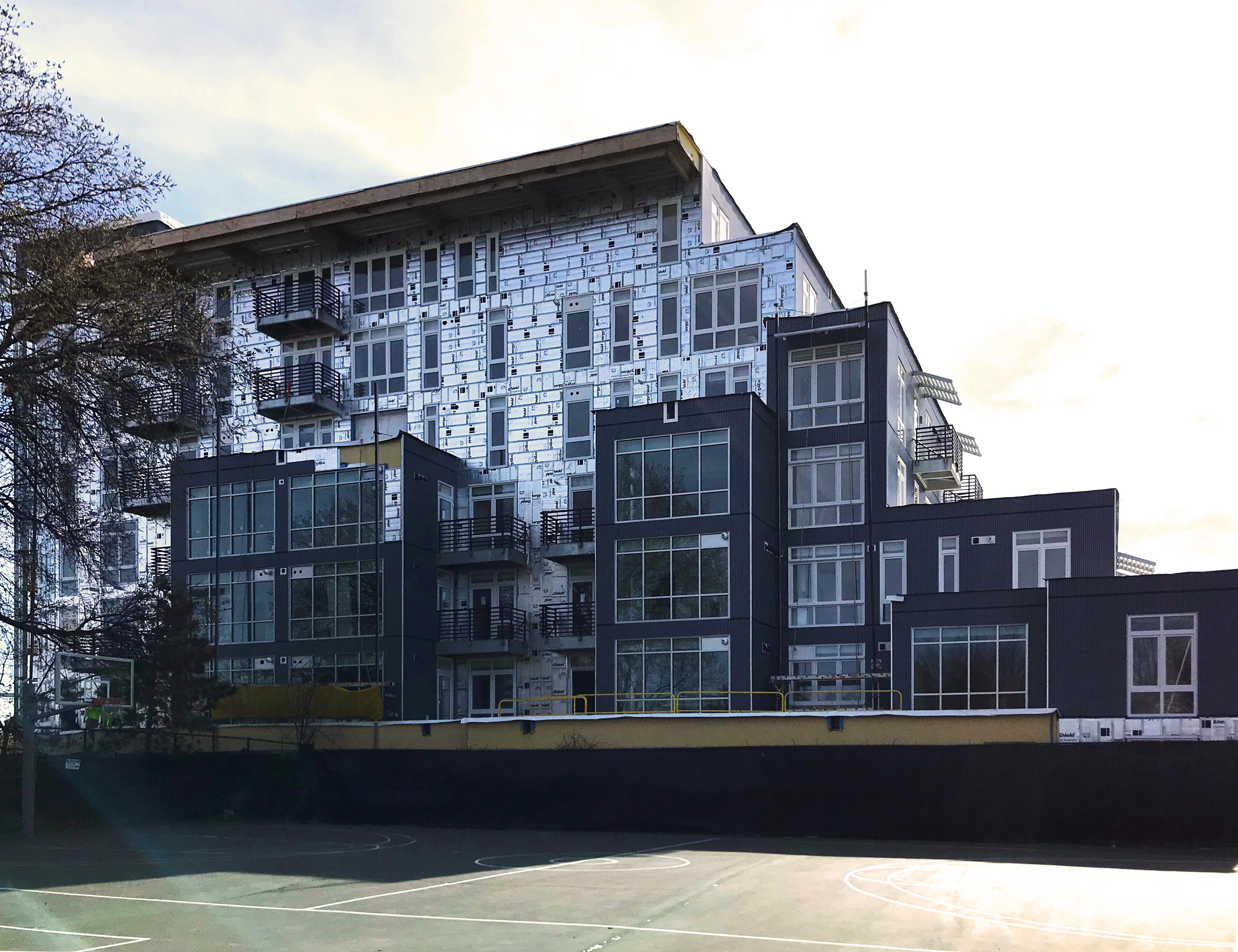 Point 262 Condominiums in-progress - featuring INTUS Windows