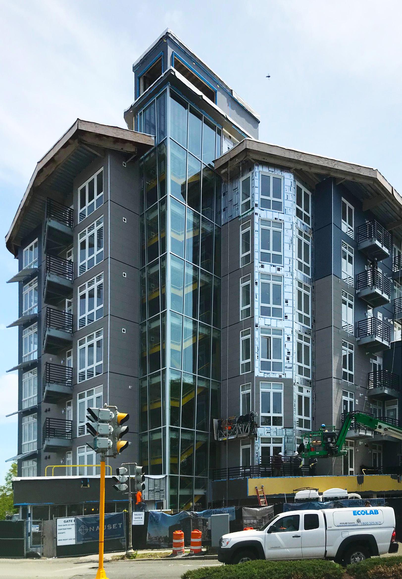 Point 262 Condominiums featuring INTUS Windows