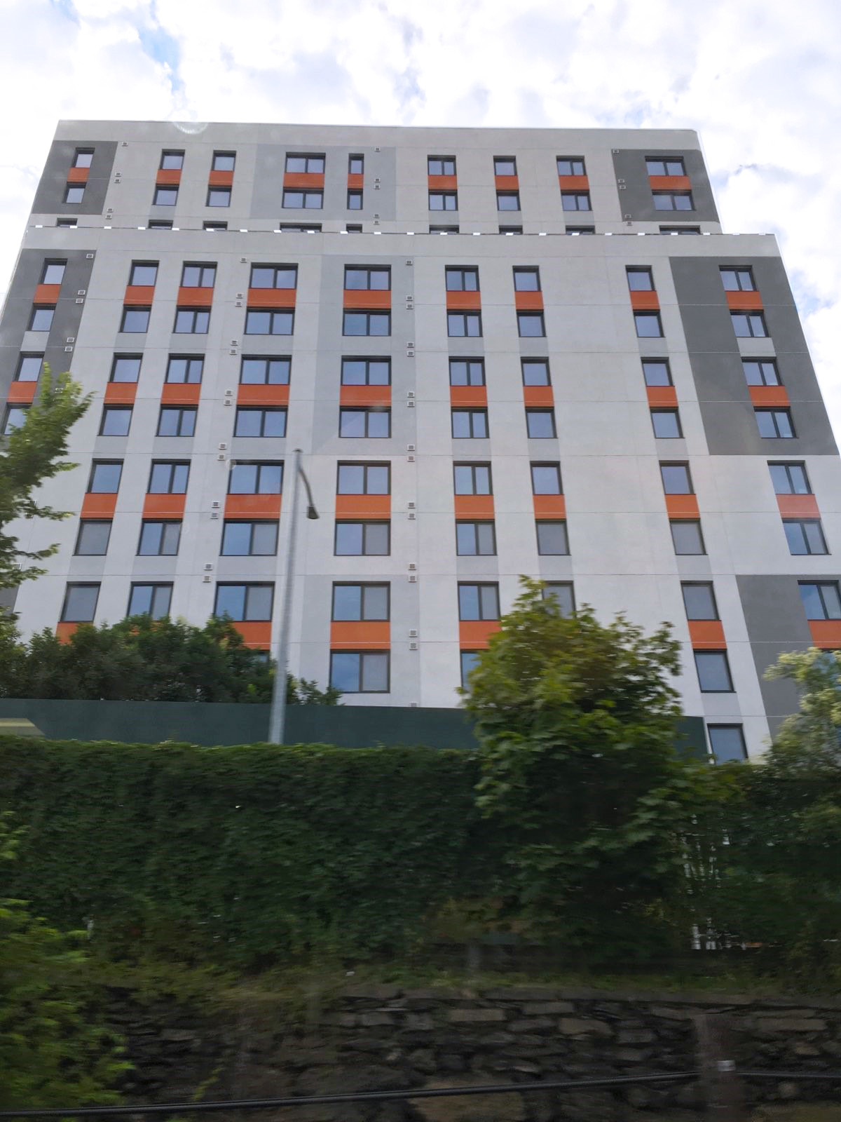 INTUS Windows have been installed at the in-progress Morris II Apartments