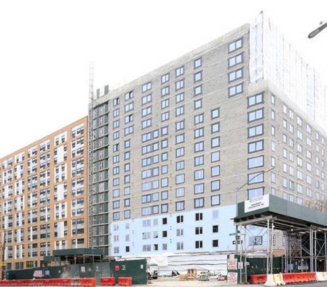 Morris II Apartments in-progress
