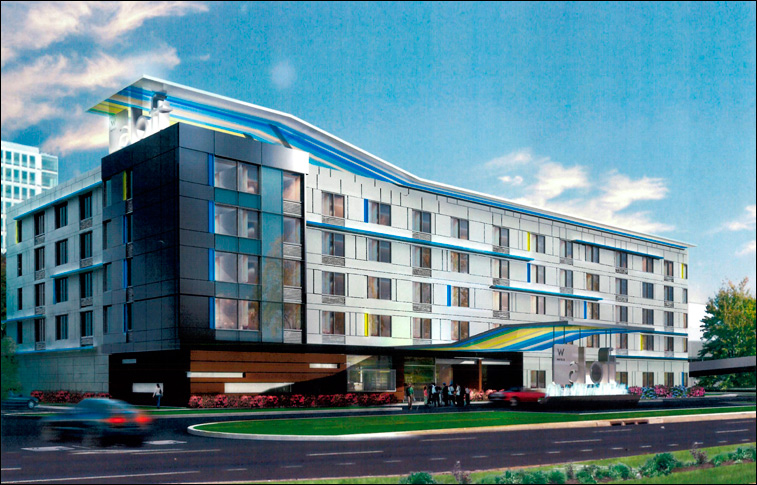Aloft Hotel in Secaucus, NJ with INTUS Windows
