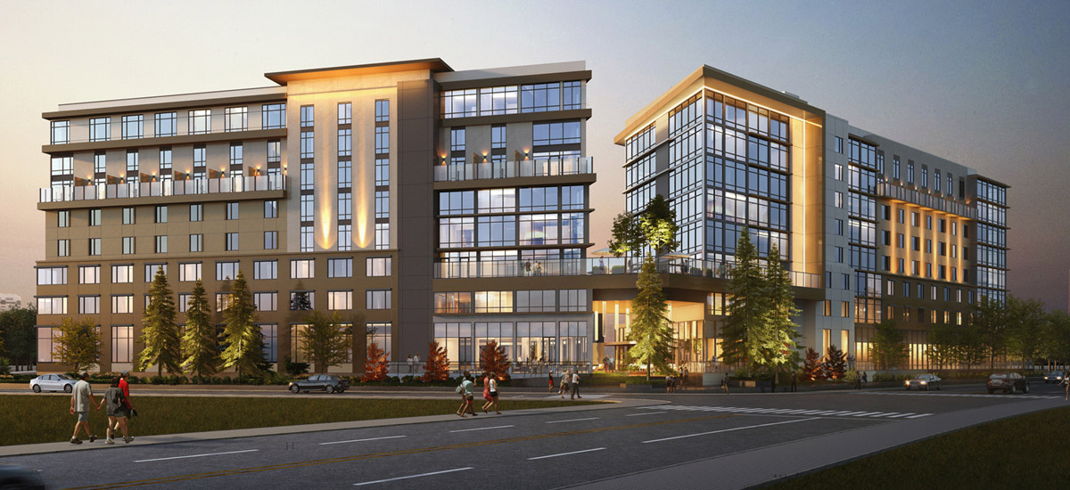 Tetra, Marriott Autograph Collection & AC Hotel Silicon Valley rendering