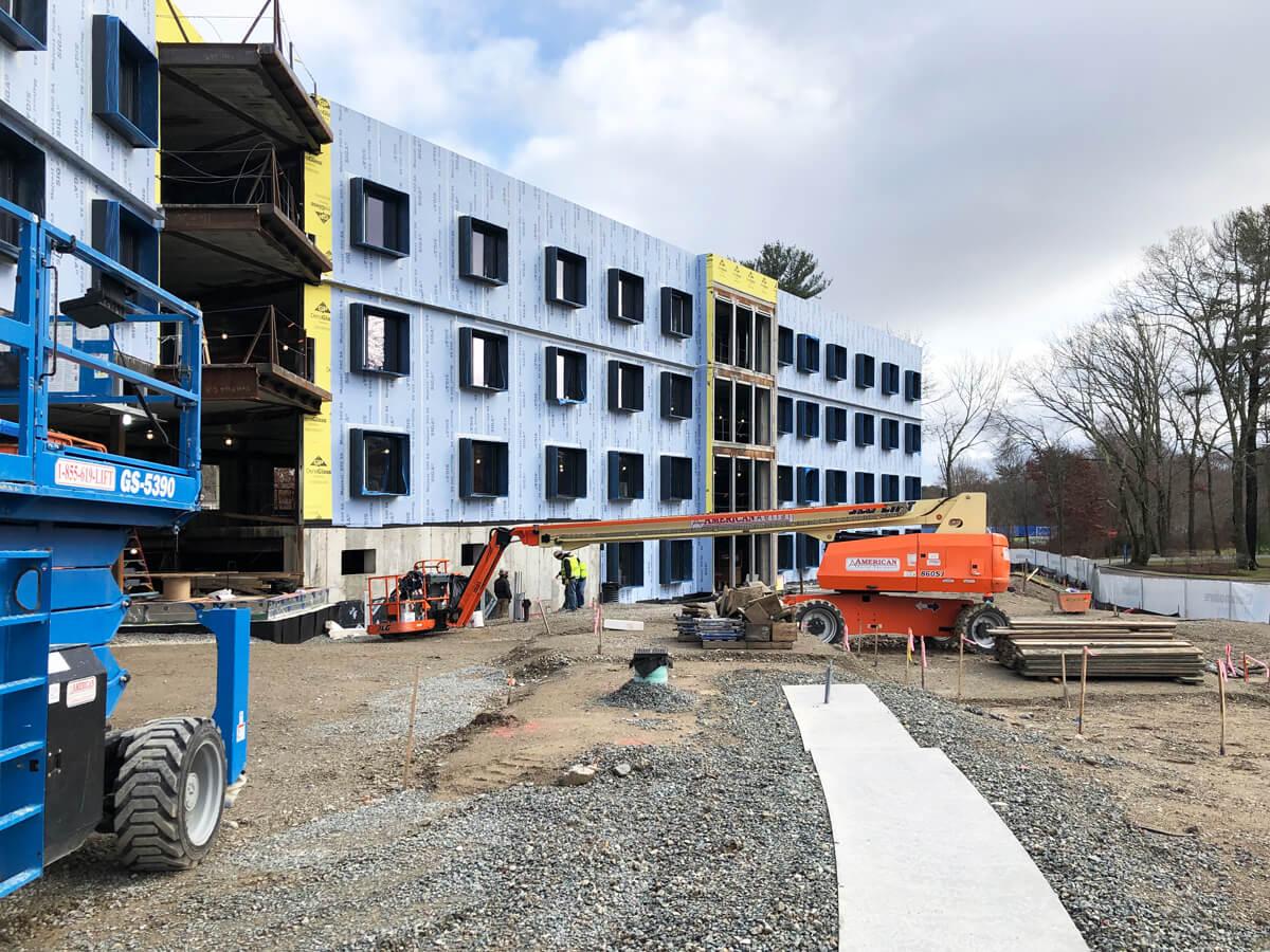 Wheaton College LCD In Progress
