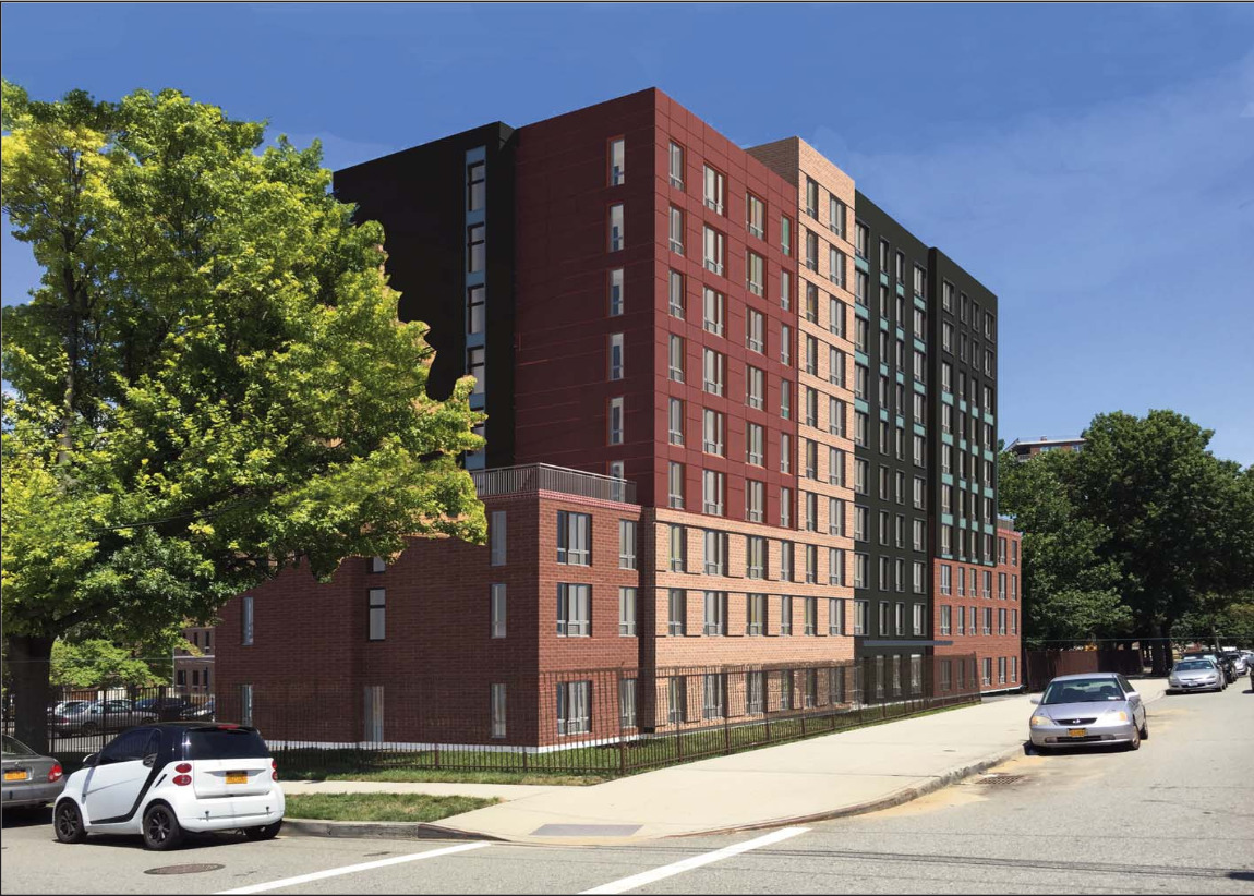 Northeastern Towers Annex rendering