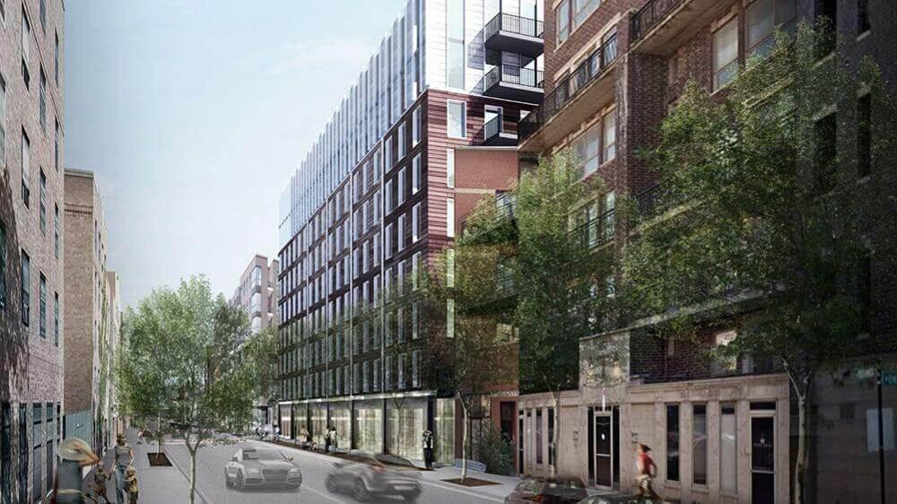 343 West Schiller Street rendering