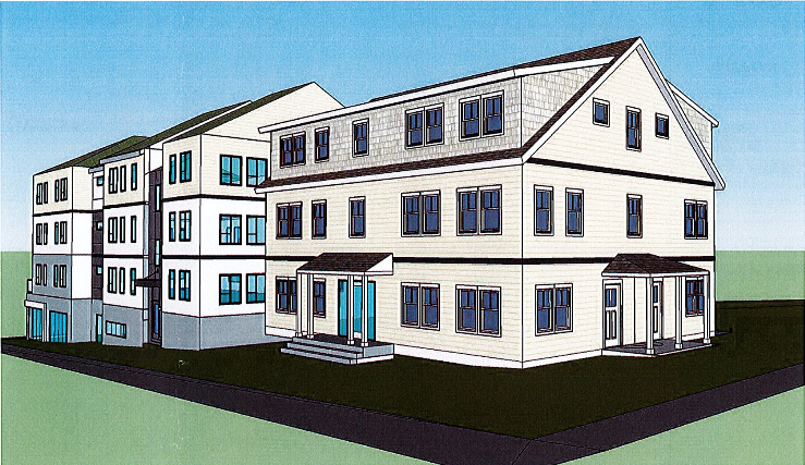 Veterans Transition House Apartments rendering