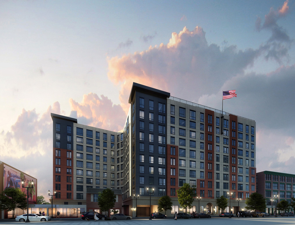 The Caldwell Apartments rendering (Credit: DMS Designs, LLC)