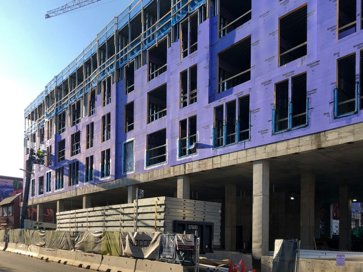 The Caldwell Apartments in-progress