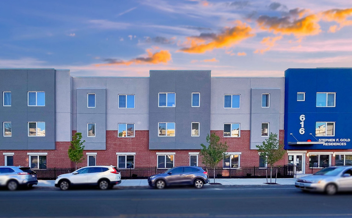 Liberty 52: Stephen F. Gold Residences with INTUS Windows & Storefronts